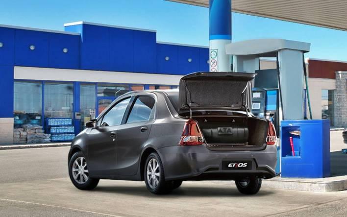 Toyota Etios GNC