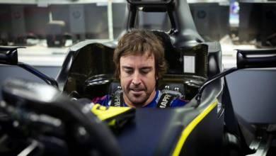 Photo of Fernando Alonso listo para probar con Renault