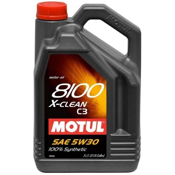 Ulei motor Motul 8100 X-clean, 5W30, 5L