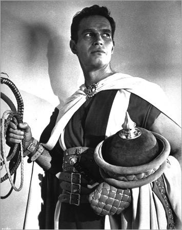 Heston as Ben Hur