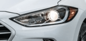 ...Other than the angle at which the headlight meets the grille, the shape is the same. (Photo: Hyundai)