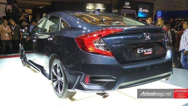 Fitur Honda Civic Turbo Indonesia All New