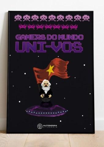 Poster Marx no fliperama