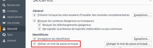 Sécuriser la navigation sur Internet avec Firefox