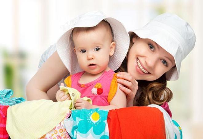 revender roupas de bebe