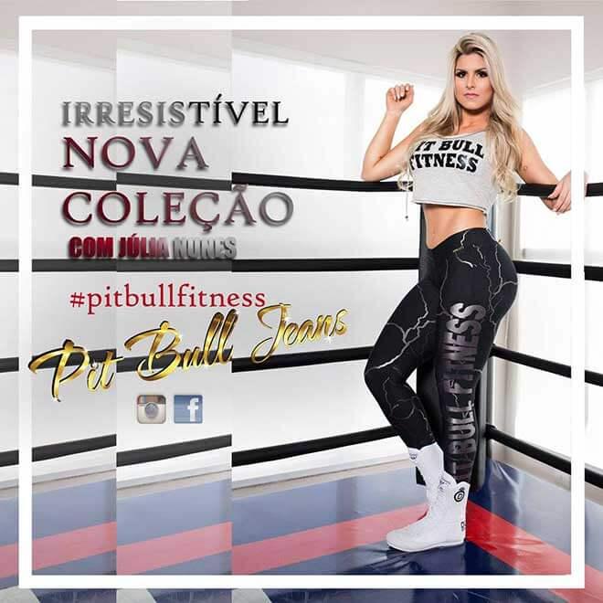 Fitness Pit Bull Jeans | Julia Nunes