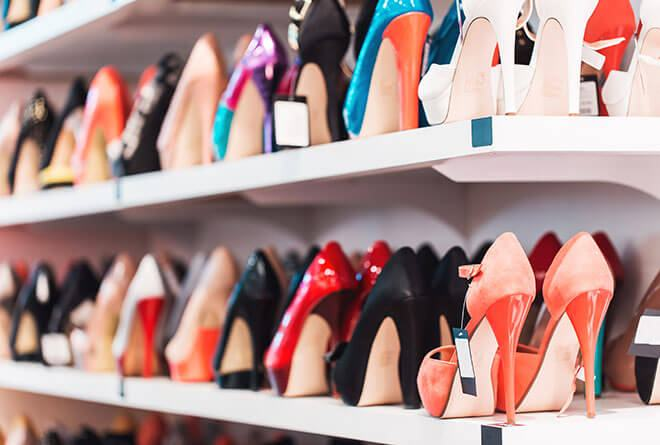 sapatos femininos em consignação