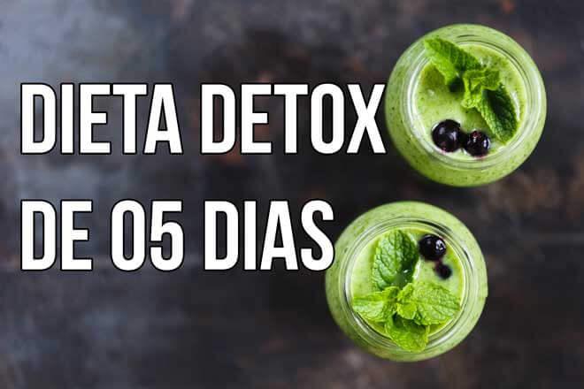 como fazer a dieta de 05 dias