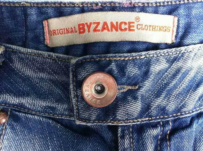 calças jeans femininas byzance