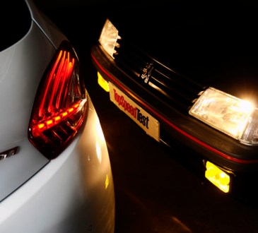 Peugeot 208 GTI & Peugeot 205 GTI