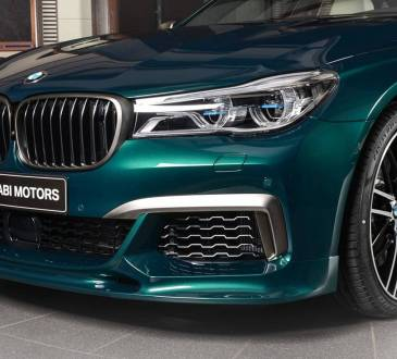 Boston Green BMW M760Li