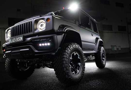 Black Bison Wald International Suzuki Jimny