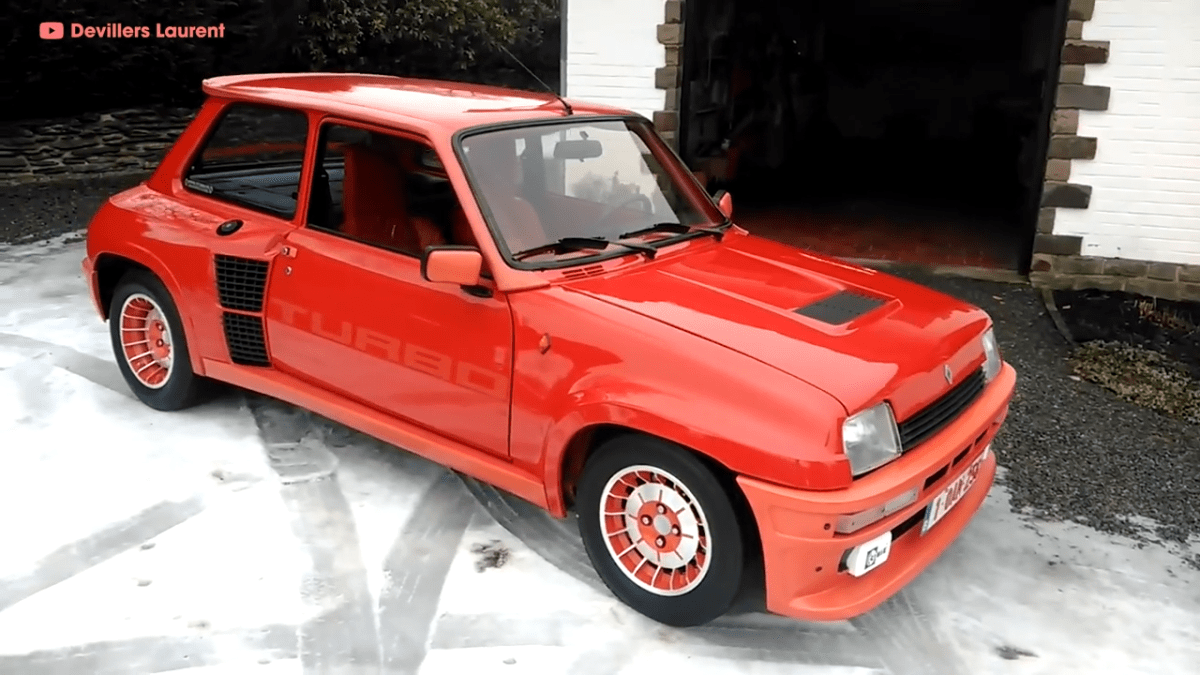 RENAULT 5 TURBO - Jedan od najboljih reli automobila ( VIDEO)