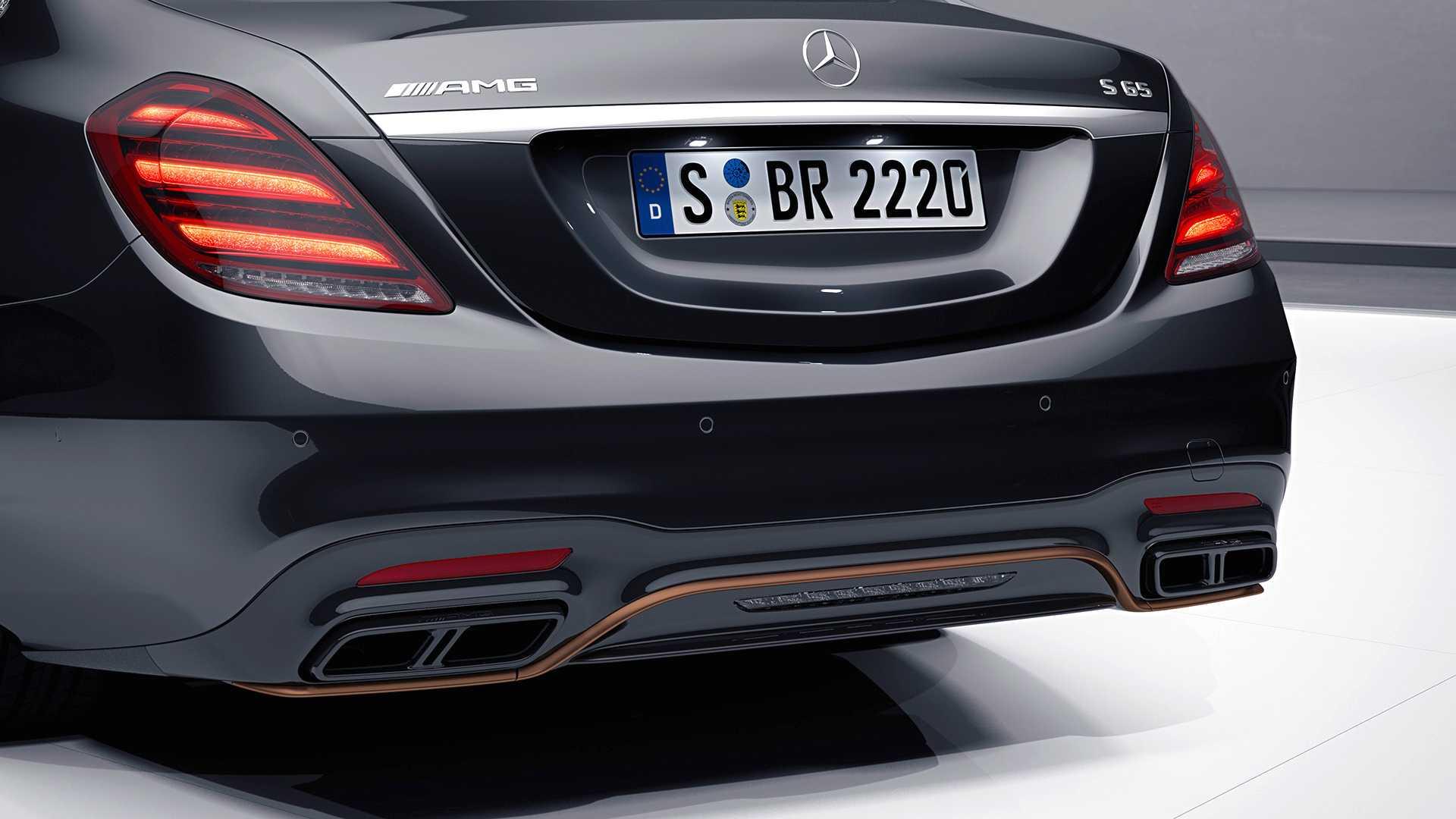 Mercedes-Benz S65 AMG Final Edition