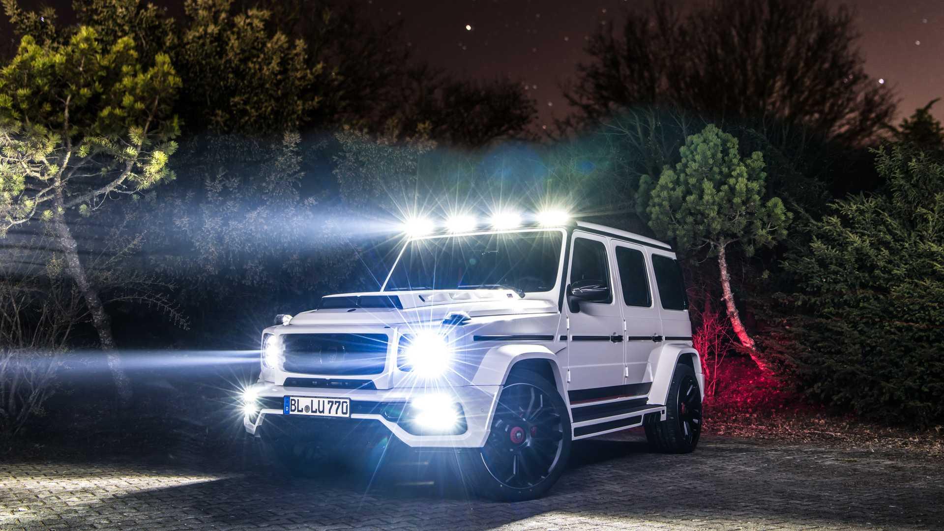 Lumma Mercedes-AMG G63
