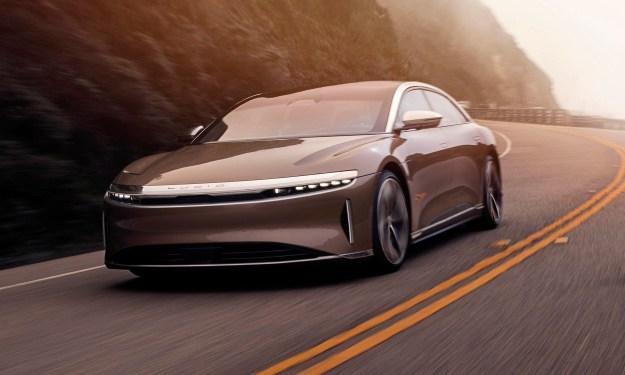 Lucid Motors Air — A Brand-New American Luxury EV ...