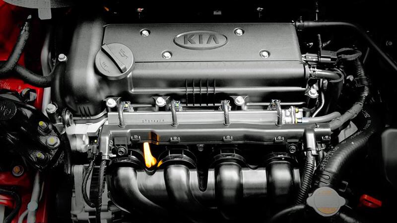 двигатель gamma kia rio