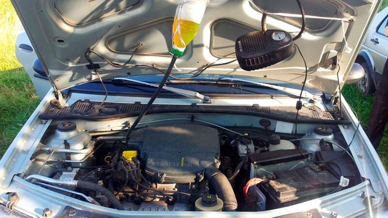 промывка форсунок без снятия с двигателя