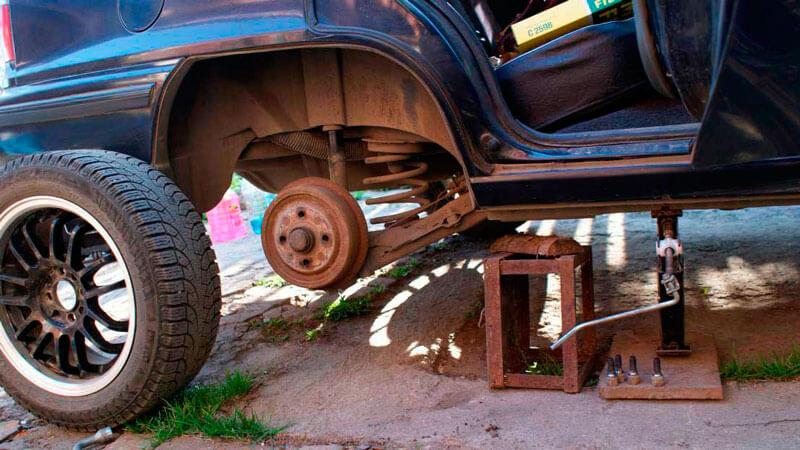 замена подшипника ступицы заднего колеса
