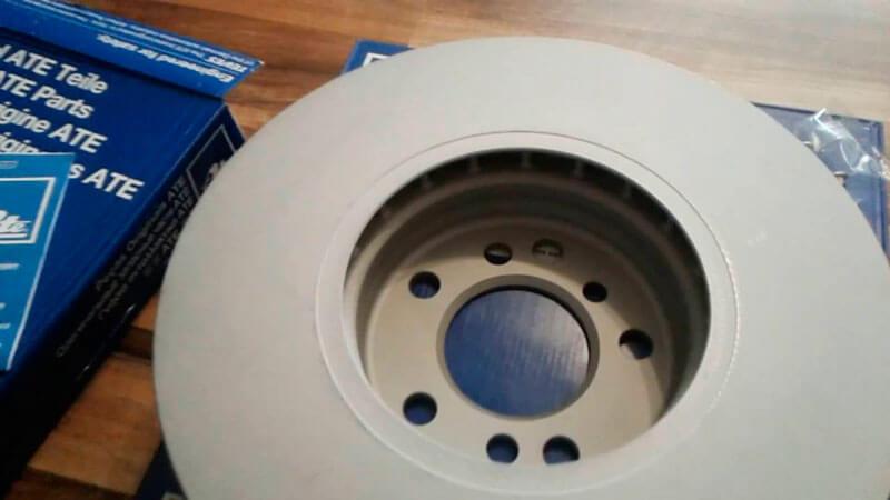 минимальная допустимая толщина тормозного диска