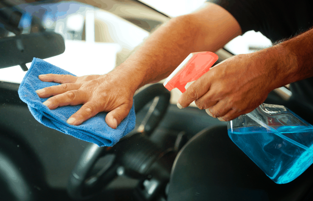 Process Of Cleaning Car Windshield With Vinegar Do It