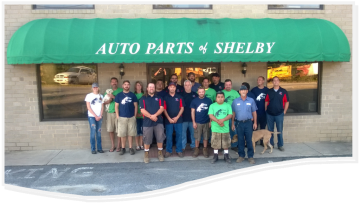 Auto Parts of Shelby Crew