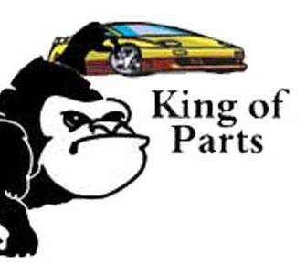Auto Parts U Pull King of Parts Gorilla head shot