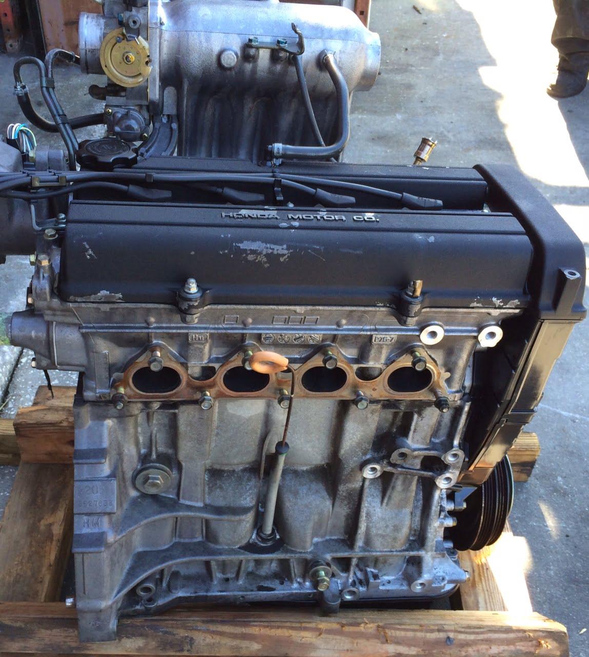 Acura Integra Engine Base Model 2 0l Dohc Non V Tec 1994