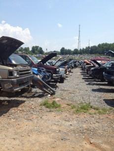 Parts trucks