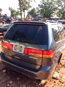 Honda Odyssey Added to U Pull Inventory