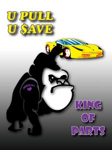 King of Parts Gorilla - U Pull, U $ave