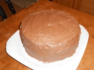 rich sour cream chocolate cake