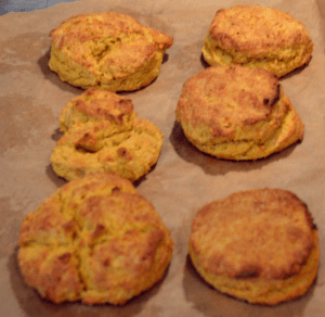 grannie geek baking perfect sweet potato biscuits