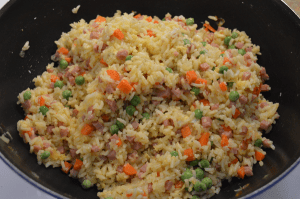 Ham Fried Rice in 30 Minutes
