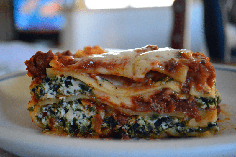 grannie geek, uncle vito's stuffed lasagna