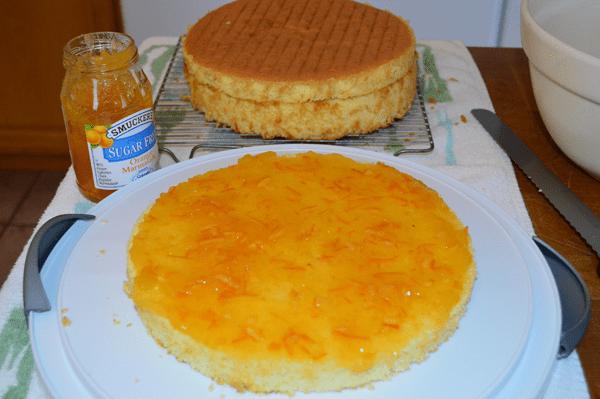 grannie geek refreshing creamsicle cake orange marmalade