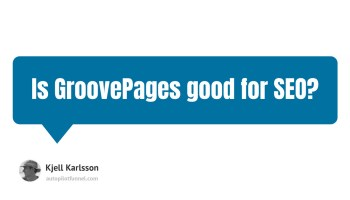Is GroovePages good for SEO