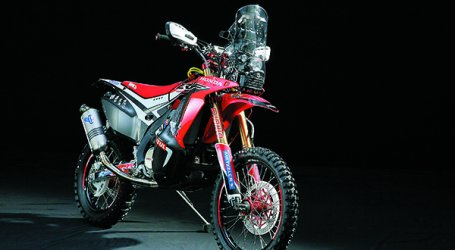 Honda CRF 450 Rally, lista para Dakar