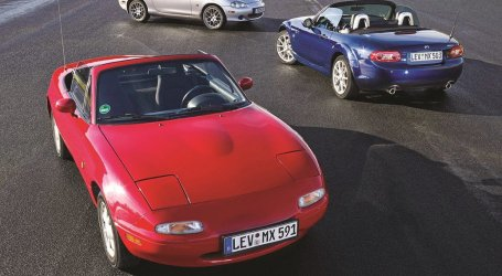 El Miata llega a los 25, el convertible más vendido del mundo