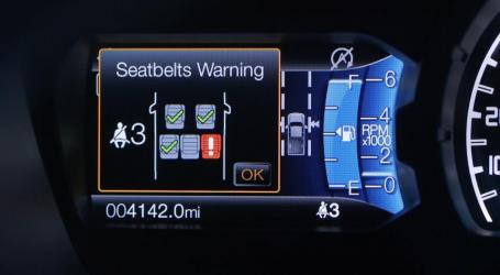 Ford Presenta Nueva Tecnología Para Cinturones De Seguridad