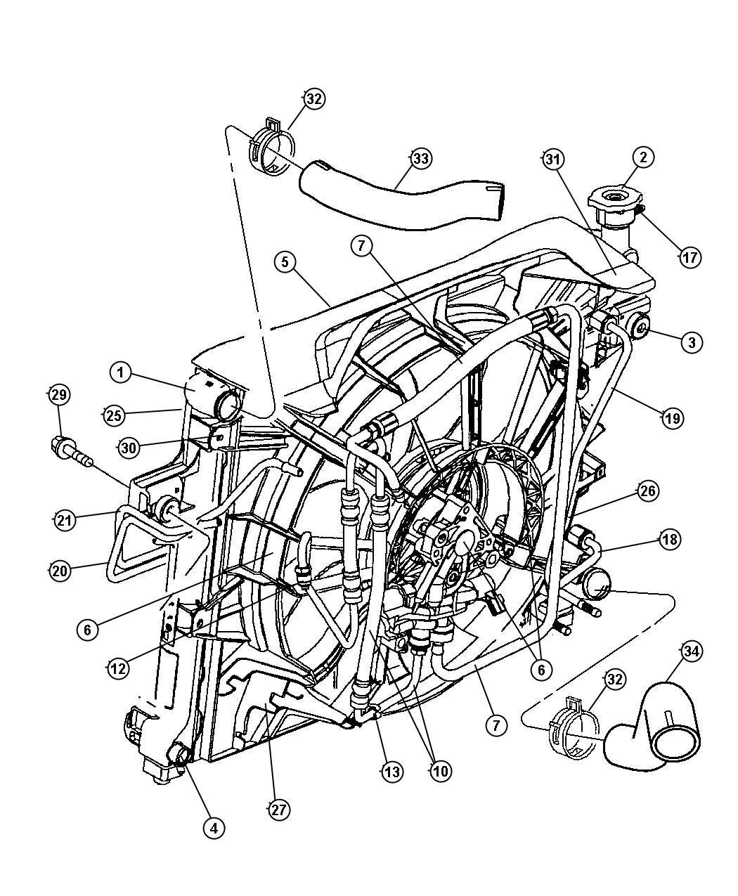 Mopar Performance Ad Mopar Radiator Engine Co