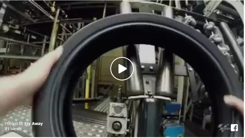 Pneu MotoGp - Processo de Construção pela Michelin