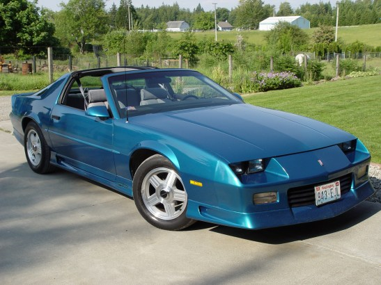 19891992 Chevrolet Camaro RS: When Looks Are Everything