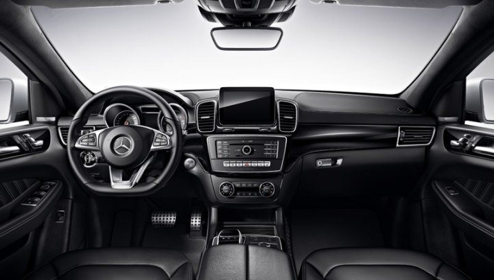 mercedes benz gle 400 coupe amg interior