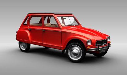 Citroën Dyane 1