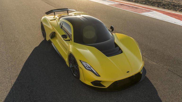 Hennessey Venom F5 ima motor sa 1600 KS i 1762 Nm