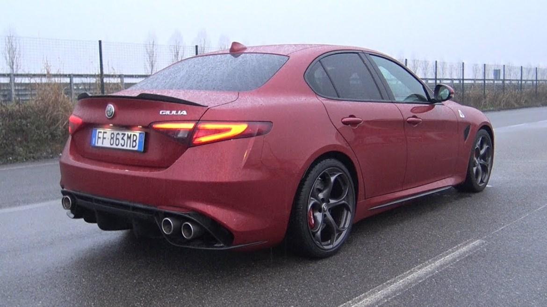 Ovako zvuči Alfa Romeo Giulia QV s otvorenim ispušnim sustavom