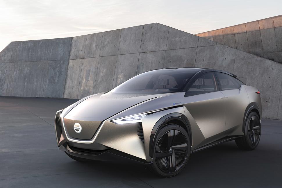 Ženeva 2018.: Nissan IMx KURO koncept