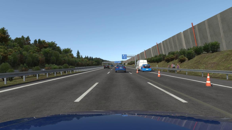 Prvi simulator vožnje za samovozeća vozila