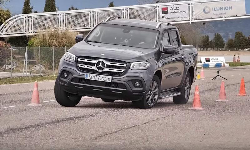 Mercedes-Benz X-Klasa na testu izbjegavanja losa